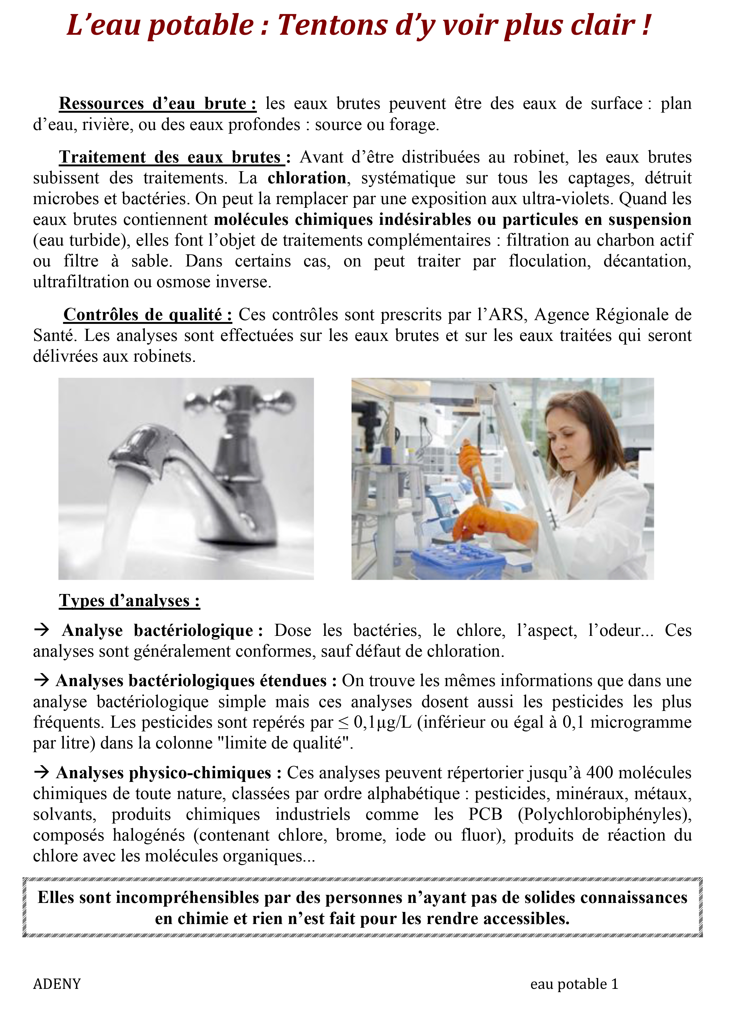 Microsoft Word - L'eau potable1.doc