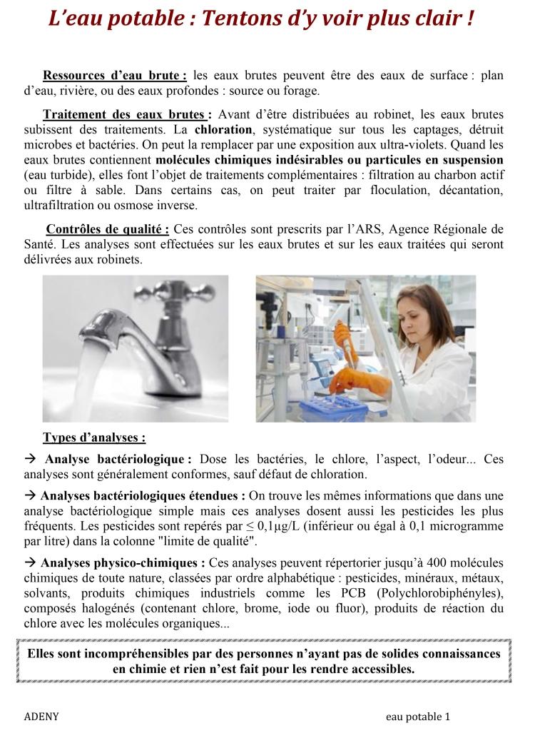 Microsoft Word - L'eau potable1.doc
